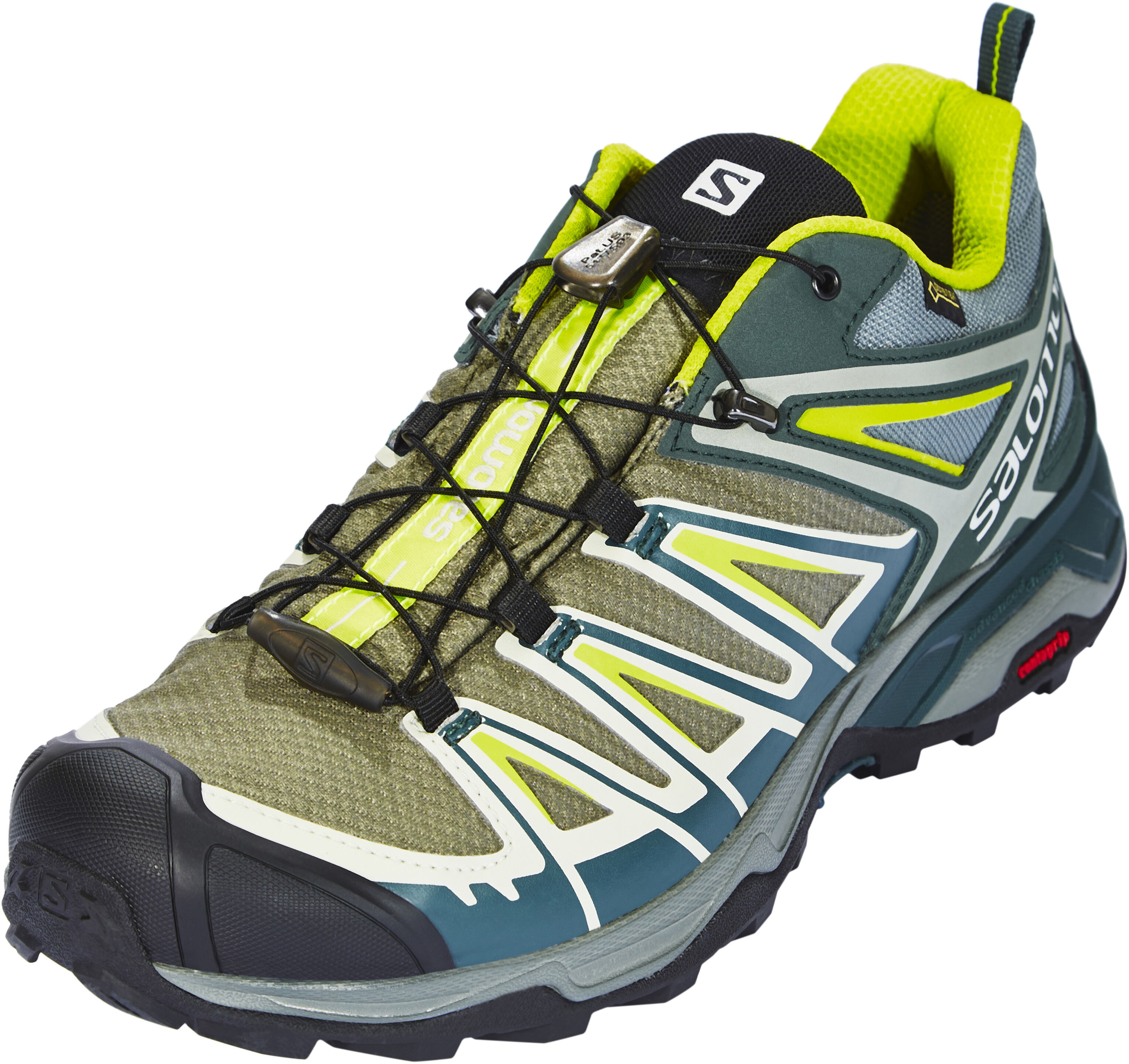 Salomon X Ultra 3 GTX Shoes Men yellow teal at Addnature.co.uk 43c09e4d525a